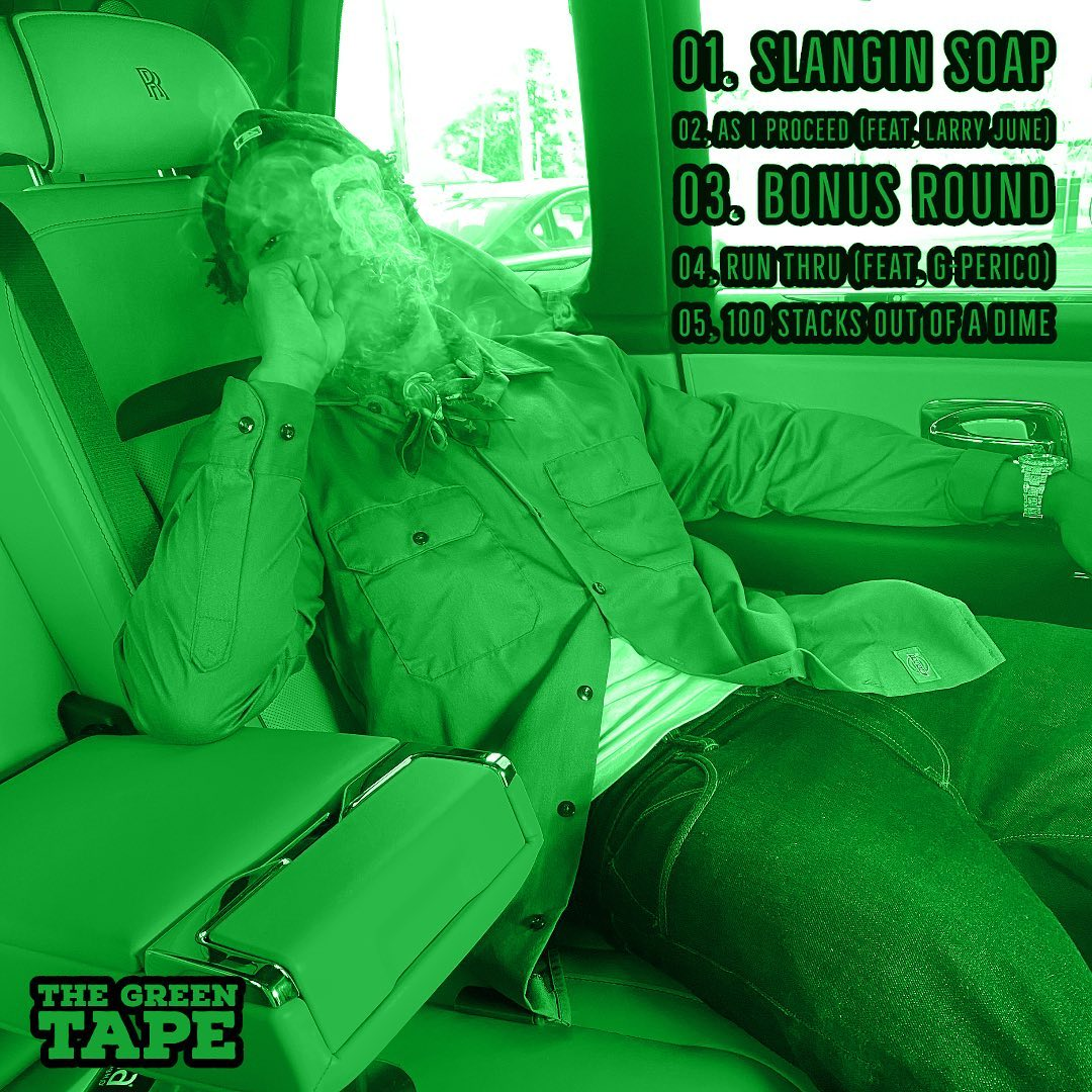 Currensy & Cardo - 'The Green Tape' EP