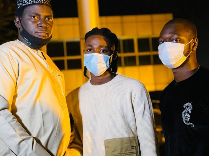 Omah Lay and Tems released from Ugandan Prison